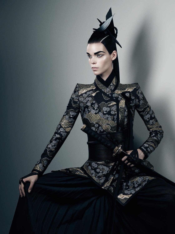 Meghan Collison by Fabien Baron (Secret Honor - Interview October-November 2012)-10