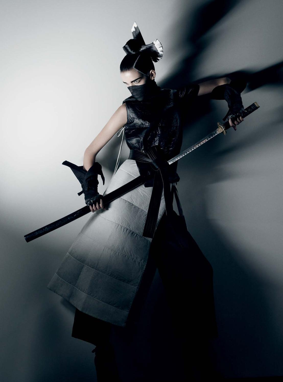 Meghan Collison by Fabien Baron (Secret Honor - Interview October-November 2012)-3