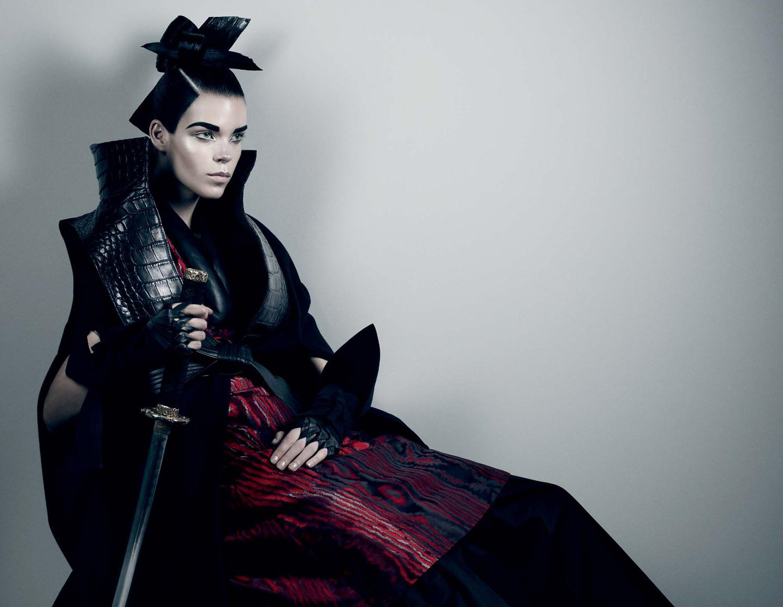 Meghan Collison by Fabien Baron (Secret Honor - Interview October-November 2012)-8